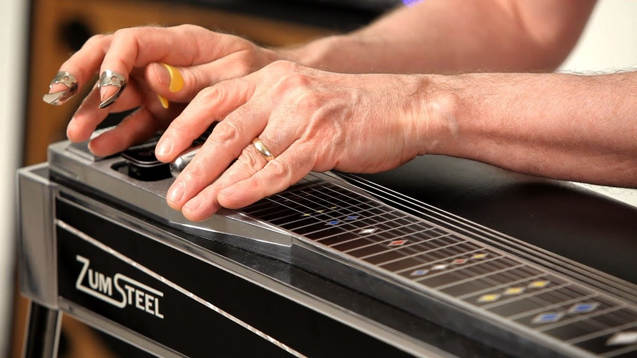 How to Play Major Scales | Pedal Steel Guitar