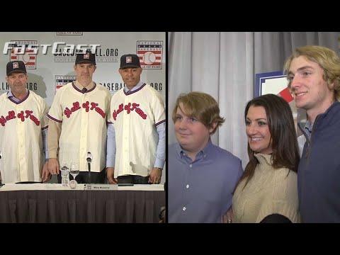 Video: MLB.com Fastcast: 2019 HOF class introduced - 1/23/19