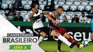 Após quatro tropeços seguidos no Campeonato Brasileiro, o Fluminense superou o Coritiba, por 2 x 1, no Couto Pereira, em...