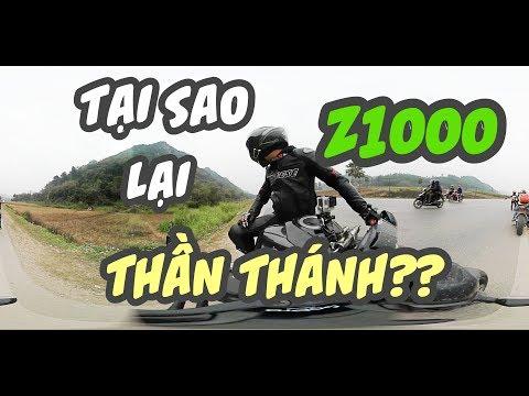 Tại sao Z1000 lại thần thánh? - Jolly Joker's Motovlog - video 360 độ - Thời lượng: 8:23.