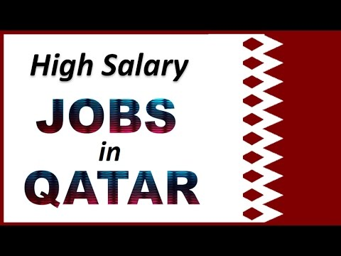 High Salary Jobs in Qatar