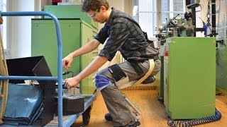 Noonee is a switzerland based start-up company. This company has created a low cost leg Exoskeleton that allows you to Sit...