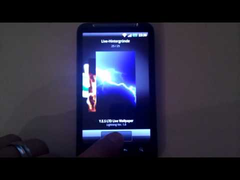 Video of Lightning Live Wallpaper