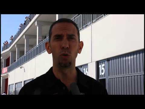 Entrevista a Carlos Lamberto (CEV, Circuito de Navarra)