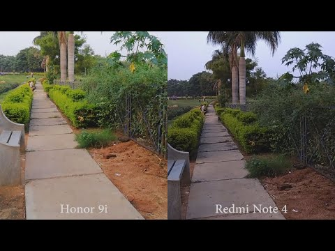 Honor 9i vs Redmi Note 4 Camera Comparison