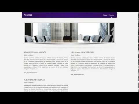 Página Web Despacho de Abogados