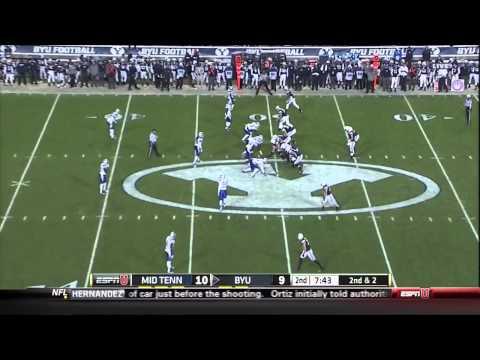 Jimmy Staten vs BYU 2013 video.