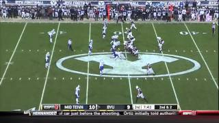 Jimmy Staten vs BYU (2013)