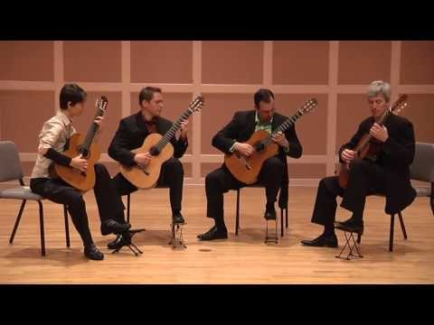 guitarquartet - by Maria Kalaniemi - recorded June, 2013 - Sundin Music Hall, Hamline University, Saint Paul, MN - Featured on the MGQ CD