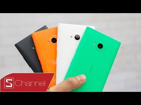 Mở hộp Lumia 730 chính hãng ngày đầu bán ra : Cấu hình tốt, thiết kế như N9