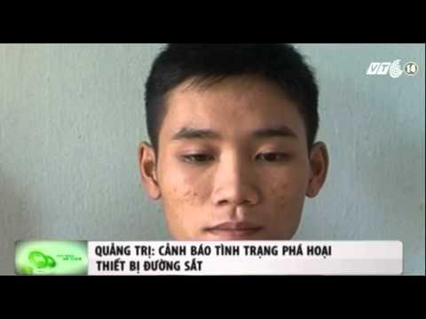 Quảng Trị: Cảnh báo tình trạng phá hoại thiết bị đường sắt