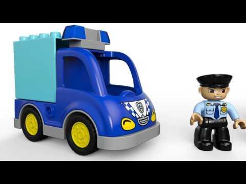 Конструктор lego duplo town полицейский патруль