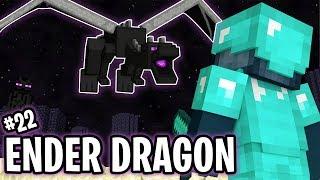 FIGHTING THE ENDER DRAGON!! - FRIEND OR FOE! #22 | MINECRAFT