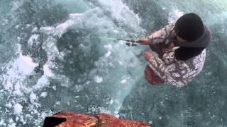Подледная рыбалка на щуку 2015
