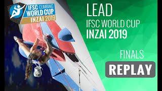 IFSC Climbing World Cup Inzai 2019 - Lead Finals by International Federation of Sport Climbing