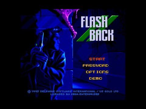 flashback megadrive soluce