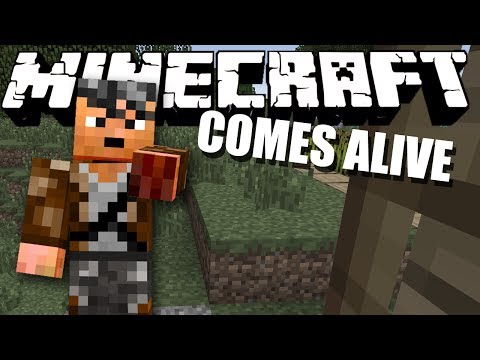 FIGHT ME! Minecraft Comes Alive #4
