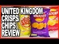 Prawn Flavoured Crisps/Chips ★ Waer n Skips from the UK Review
