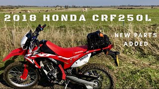3. 2018 HONDA CRF250L, Parts I've added and first impressions & should I get the CRF450L instead?