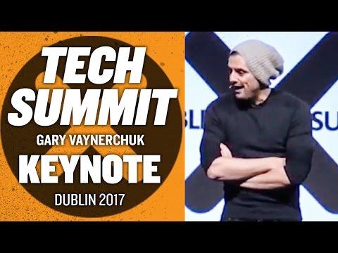Dublin Tech Summit Gary Vaynerchuk Keynote | Ireland 2017