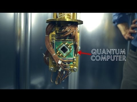 Google - A peek at the early days of the Quantum AI Lab: a partnership between NASA, Google, USRA, and a 512-qubit D-Wave Two quantum computer. Learn more at http://g...