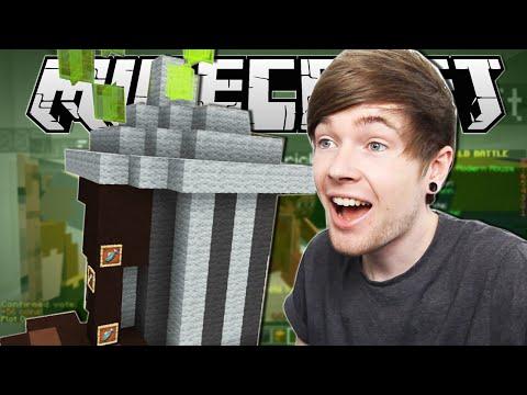 Minecraft   EPIC TRASH CAN!!   Build Battle Minigame
