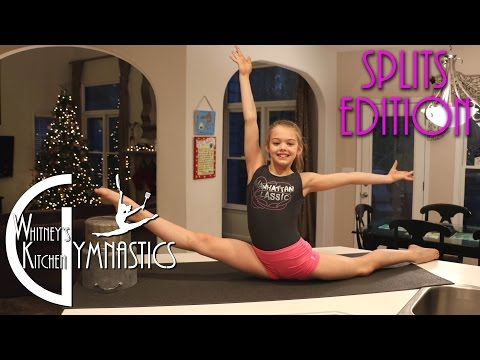 Video How to do the Splits | Whitney's Kitchen Gymnastics | Oversplits Edition download in MP3, 3GP, MP4, WEBM, AVI, FLV January 2017