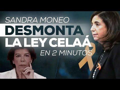 Desmontamos la Ley Celaá en 2 minutos. Magistral Sandra Moneo #StopLeyCelaa