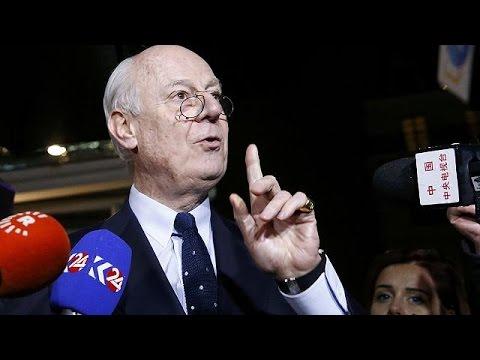 Συριακή κρίση: Προσωρινή διακοπή στις ειρηνευτικές συνομιλίες της Γενεύης