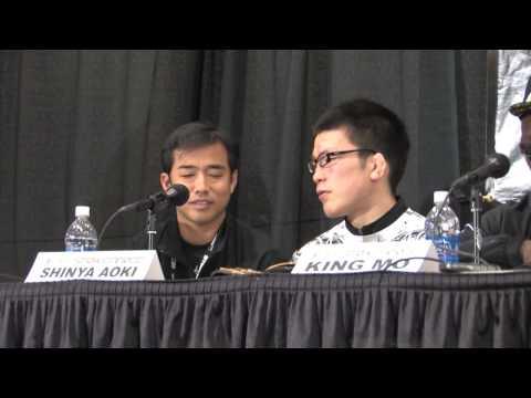Shinya Aoki Post Fight at Strikeforce Nashville Press Conference