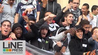 Aulnay-sous-Bois France  city photos gallery : Manifestation pro Palestine non autorisée / Aulnay-sous-Bois (93) - France 22 juillet 2014