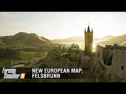 New European Map Felsbrunn Featurette