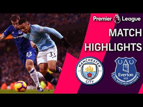 Video: Man City v. Everton | PREMIER LEAGUE MATCH HIGHLIGHTS | 12/15/18 | NBC Sports