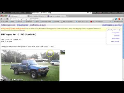 Craigslist Hattiesburg Mississippi Used Cars - Best Prices on For Sale