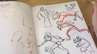 I flip through a workbook from gesture class to demonstrate LINE OF ACTION and how to improve it in your gesture drawing.(Music:  'Roboskater' and 'Ooh Hey' by Audionautix is licensed under a Creative Commons Attribution license (https://creativecommons.org/licenses/by/4.0/) Artist: http://audionautix.com/ My digital book collection of gesture drawings is available here: https://gumroad.com/l/MBcyMy digital book collection of café sketches is available here: https://gumroad.com/l/ADscP#My Instagram                      http://www.instagram.com/matt_jonesart/My Art Blog                          http://mattjonezanimation.blogspot.com/Facebook Art Page             http://www.facebook.com/ArtOfMattJones/My Twitter                            https://twitter.com/Jonezee99My GumRoad sketchbook https://gumroad.com/l/ADscP