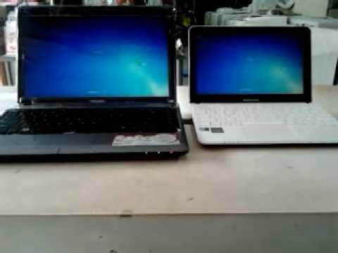 Samsung Netbook NC108 VS TOSHIBA L735 Fast Restart!