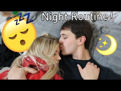 COUPLES NIGHT ROUTINE 2019!!!