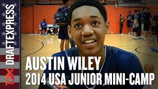 2014 Austin Wiley Interview - DraftExpress - USA Mens Junior Team Mini-Camp