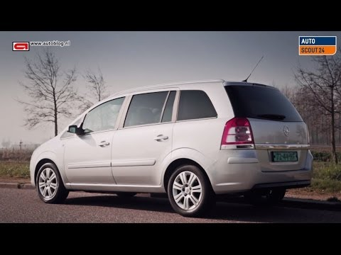 Opel Zafira B review -my2005-2012-