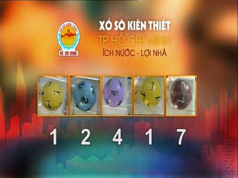 Xổ Xố Kiến Thiết TPHCM || HTV1 || 07-08-2017