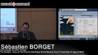 The Sandbox - Story Of The Pixel Art God Game | Sébastien BORGET