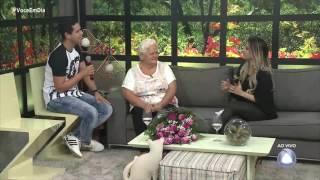 Avó Geovana Menezes e neto João Carlos contam história de amor no Você em Dia -