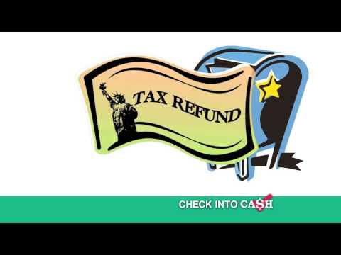 Check Into Cash Tax Refund