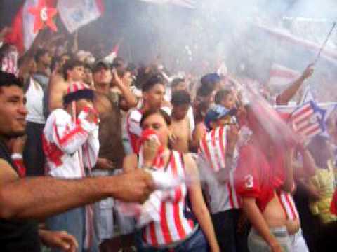 FRENTE ROJIBLANCO SUR - Frente Rojiblanco Sur - Junior de Barranquilla
