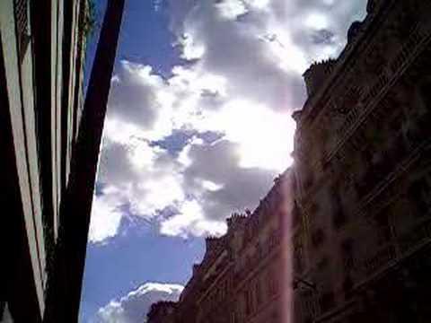 Clouds above rue d'Assas