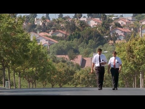 district - Eight Mormon missionaries share their experiences teaching people, and one Elder tells about what led him to serve a mission and leave his rock band behind.