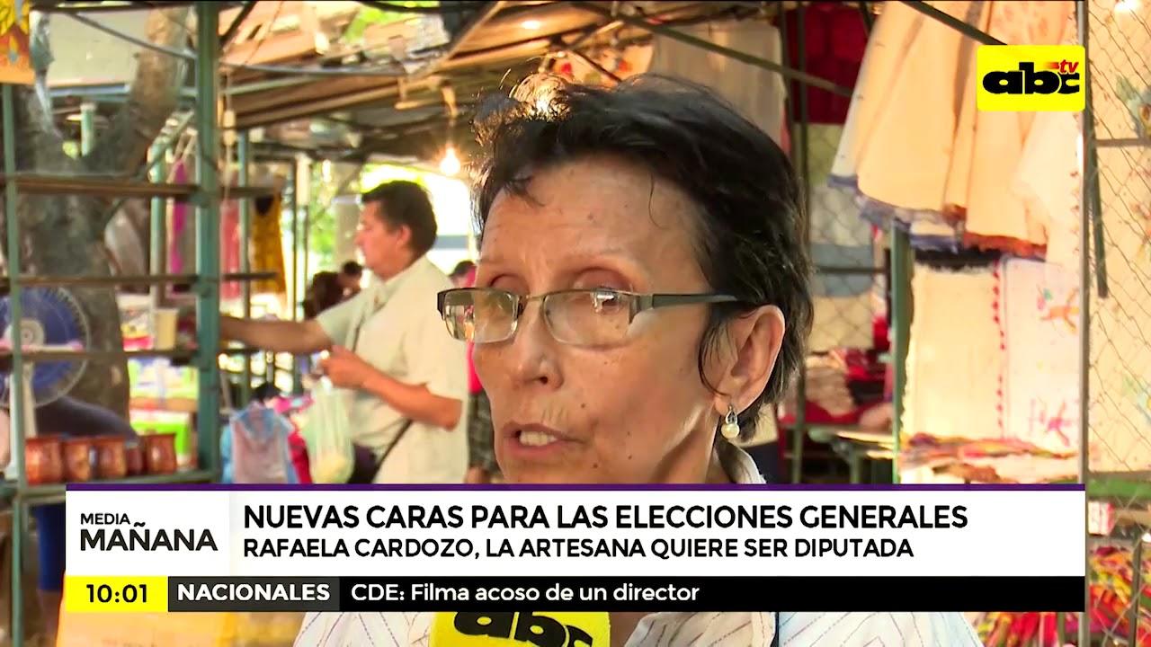 Rafaela Cardozo, la artesana que quiere ser diputada