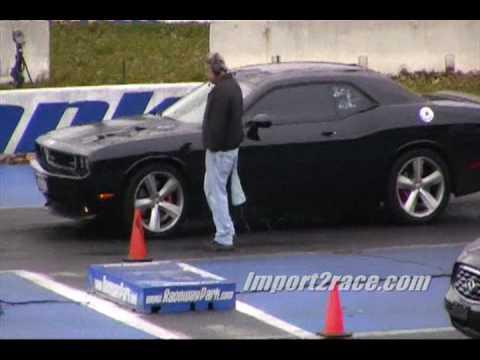 Dodge Challenger vs. Infinity EX35