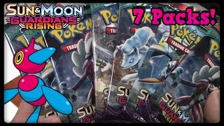 7 EARLY Guardians Rising Packs! GX PULL?! by Master Jigglypuff and Friends