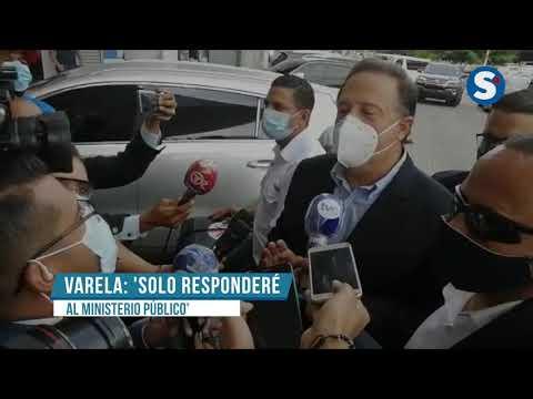 Expresidente Varela coopera en el investigación en su contra.
